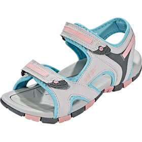 Hi-Tec GT Strap Sandals Kids cool grey/curacou blue/papaya punch